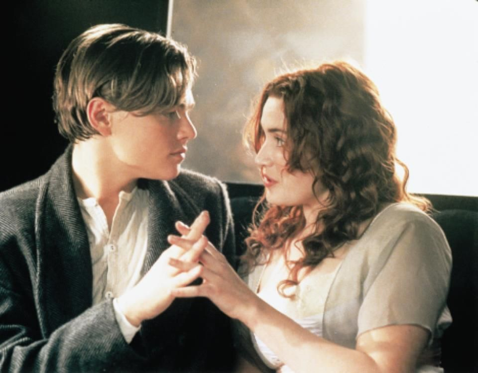 """Jack: """"I figure life's a gift, and I don't intend on wasting it. You never know what hand you're gonna get dealt next. You learn to take life as it comes at you, to make each day count."""" Leonardo DiCaprio and Kate Winslet in Titanic"""