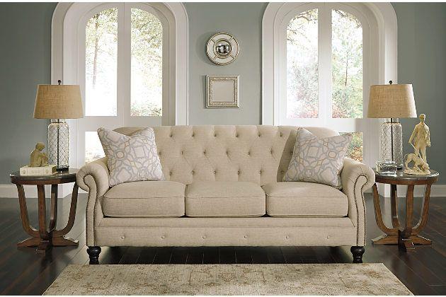 Ashley Home Furniture Natural Kieran Sofa View 1 Our first house