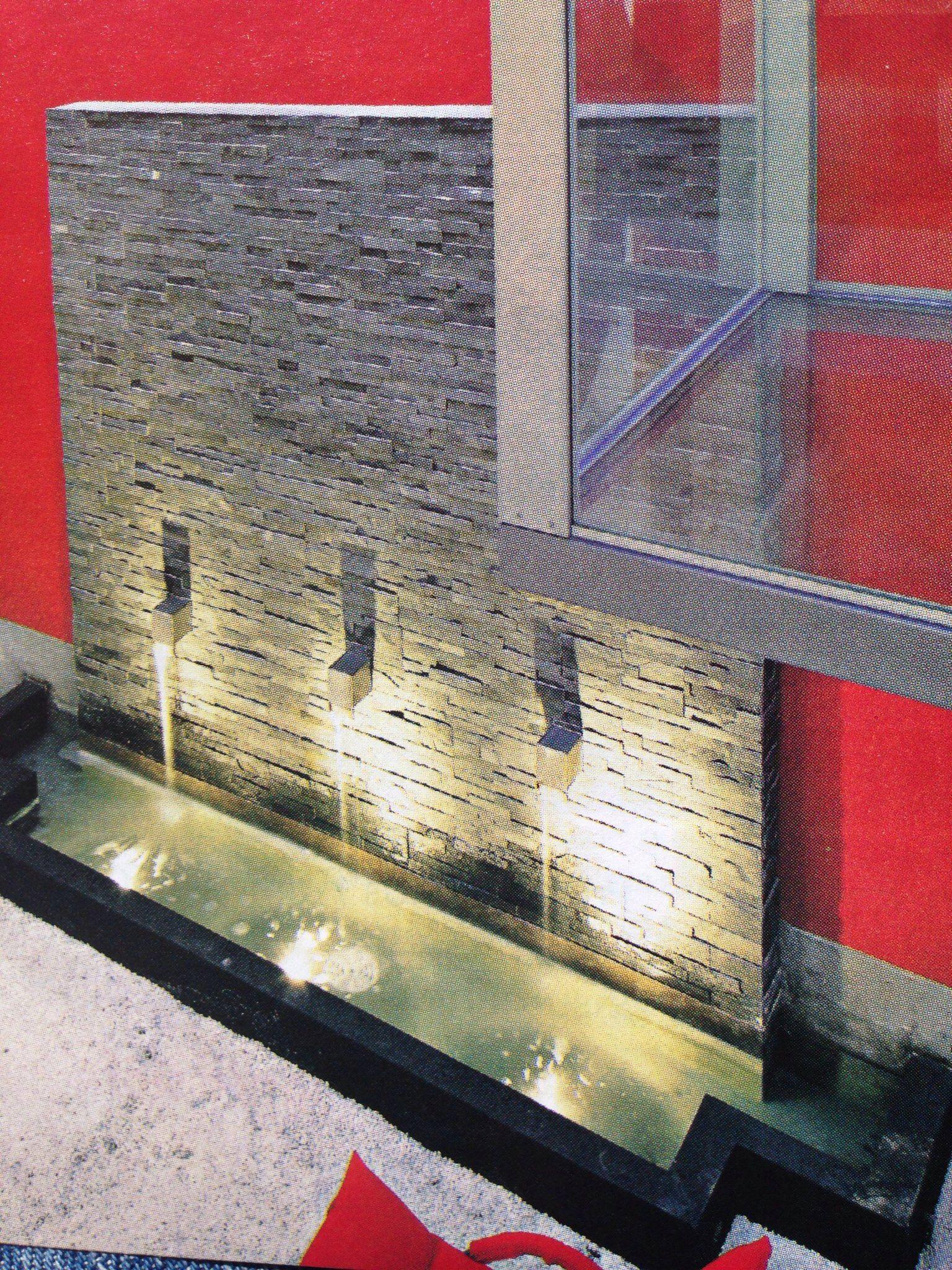 Muro llor n modern asian style pinterest llor n - Fuentes para jardin exterior ...