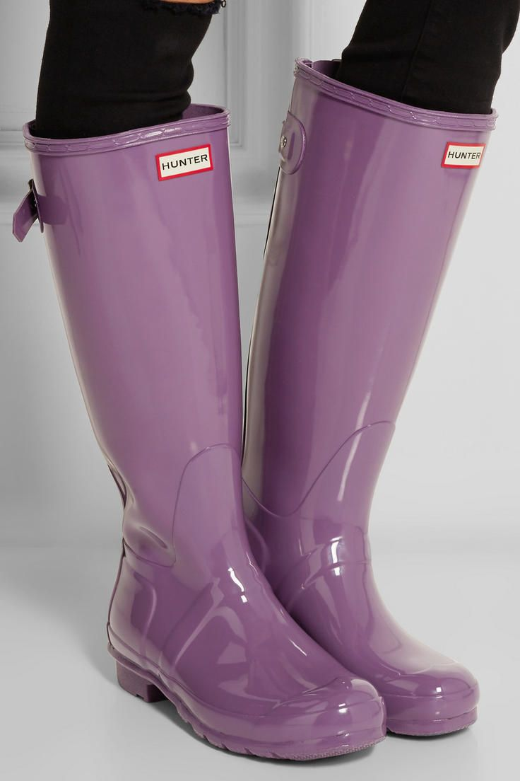 72b6caed81d4 Hunter Original | Tall Gloss Wellington boots | NET-A-PORTER.COM ...