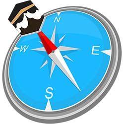 تحميل تطبيق تحديد اتجاه القبلة ومواقيت الاذان للموبايل البرنامج الإسلامي المهم و المفيد لكل مسلم ففيه العديد من المميزات Compass App Find Direction Learn Islam