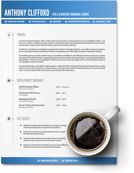 Professional Resume Writing Services, CV Writer Arielle
