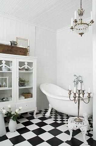 Bathroom tiles maybe
