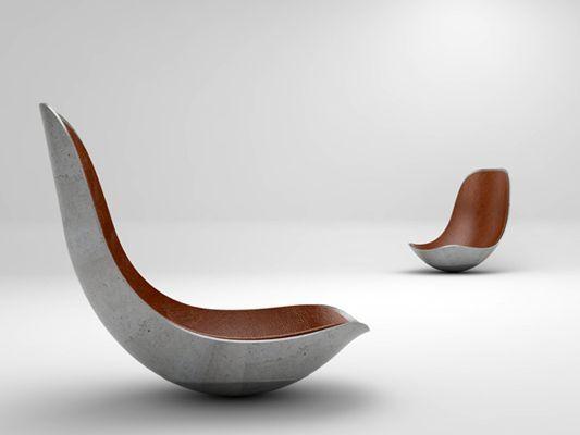 Die Dresdner Designer von Paulsberg wollen sogar einen - design schaukelstuhl beton paulsberg
