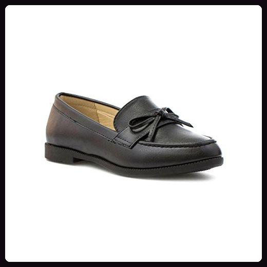 Büro Frauen Shallow Low Heel Schuhe Strasssteine Print Single Schuhe (35, Weiß) Hunpta