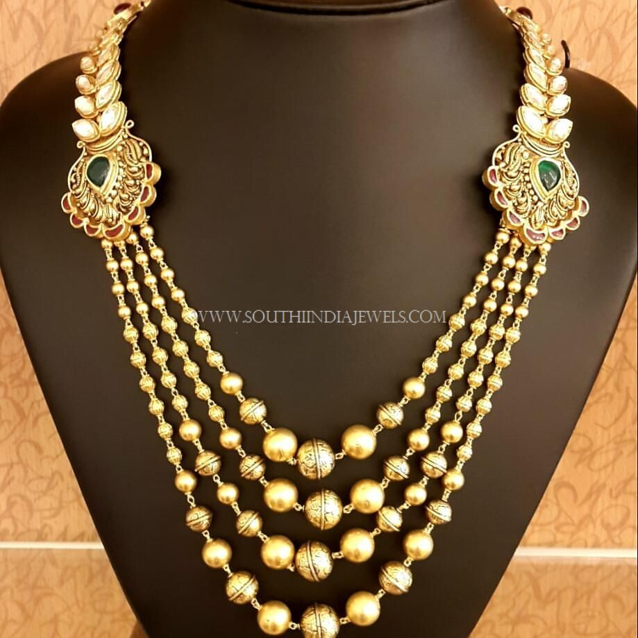 Designer Step Chain Necklace | Necklace designs, Chains and Catalog