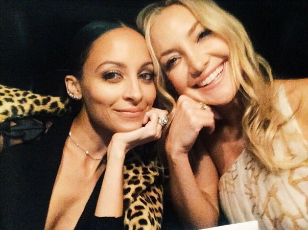 Nicole Richie and Kate Hudson. Perfection.