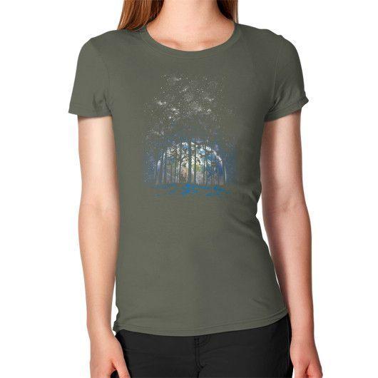 Rising night Women's T-Shirt
