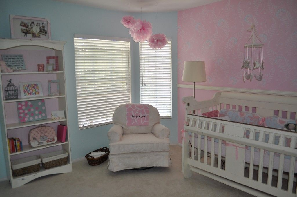 Harper Joys Peaceful Pink And Blue Nursery Generation Next