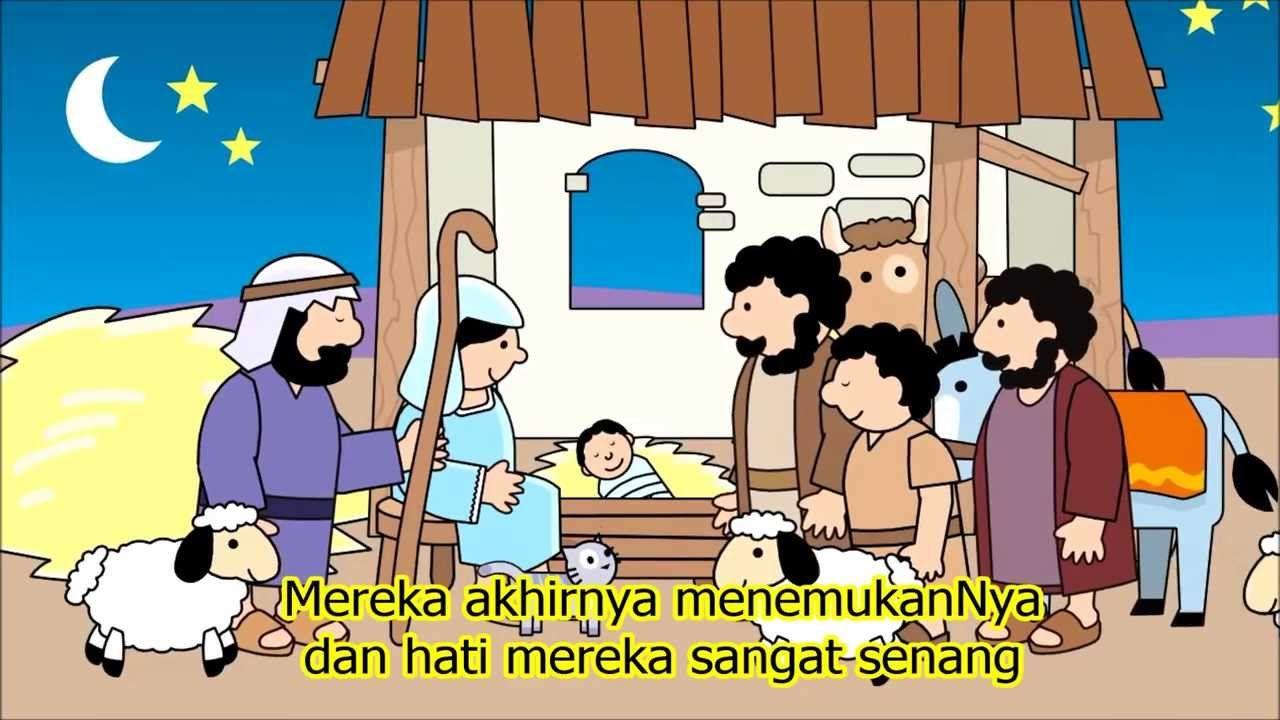 Film Animasi Yesus Lahir Dari Tiny Bible Treasure Sekolah Minggu Kartun Buku Komik