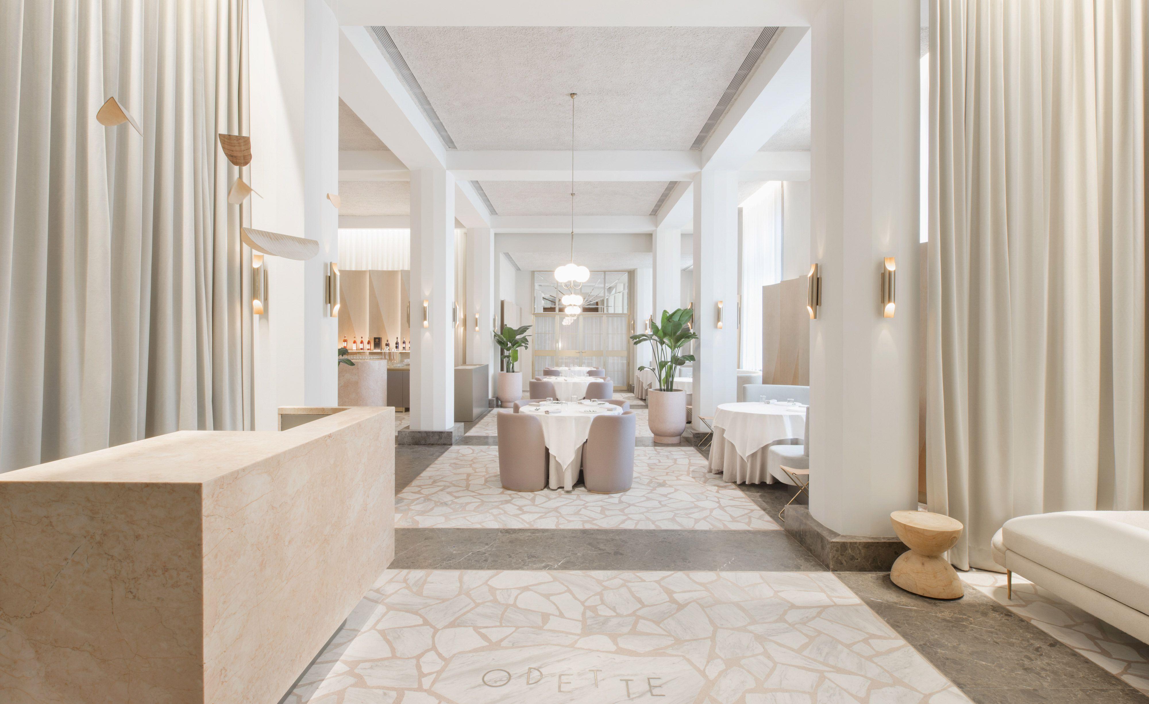 Odette Singapore Restaurant DesignRestaurant InteriorsAsia