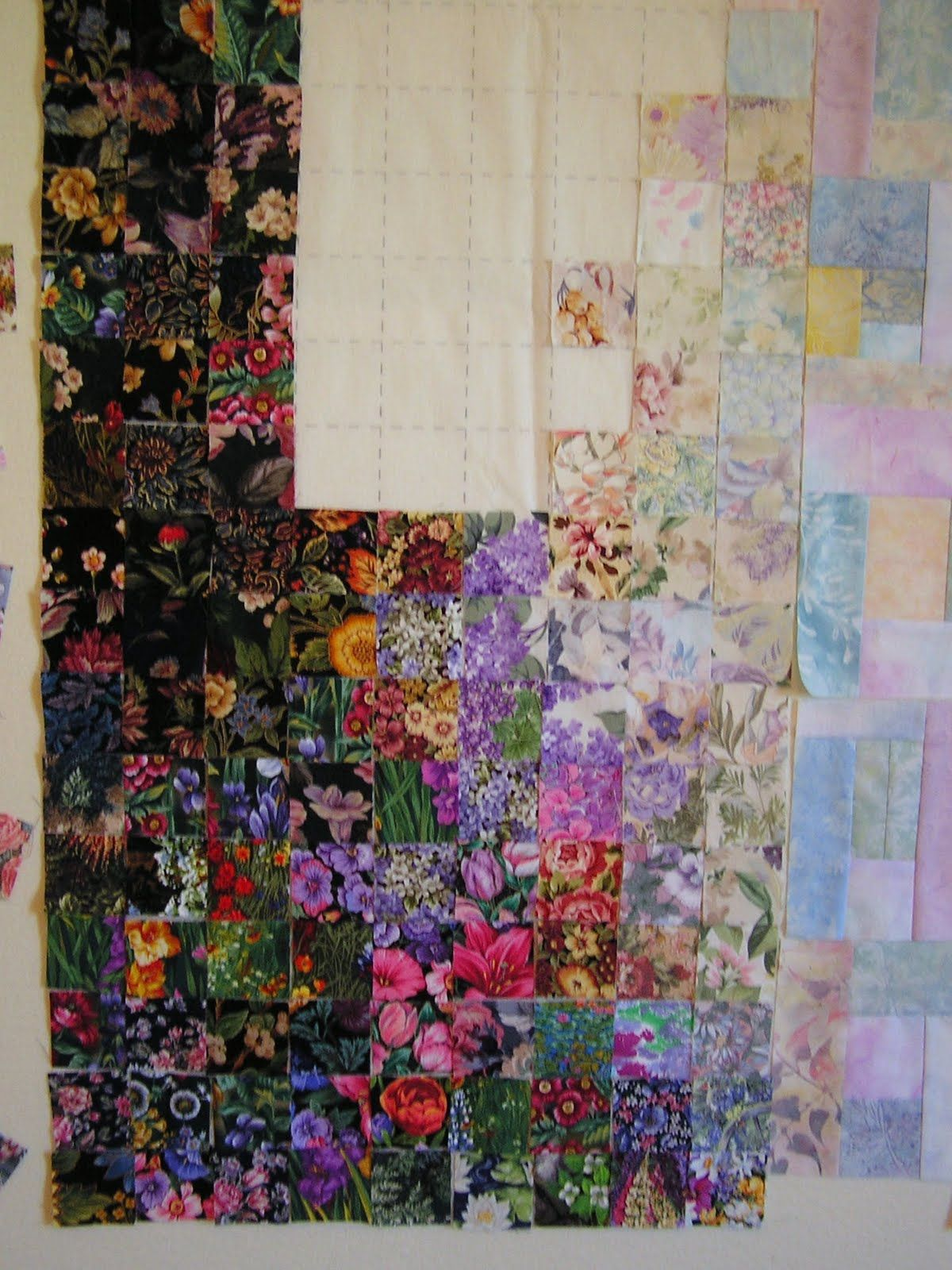 How To Make A Watercolor Quilt Watercolor Quilt Landscape