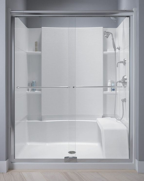 Incroyable Sterling Kohler Walk In Shower | Sterling Shower Units