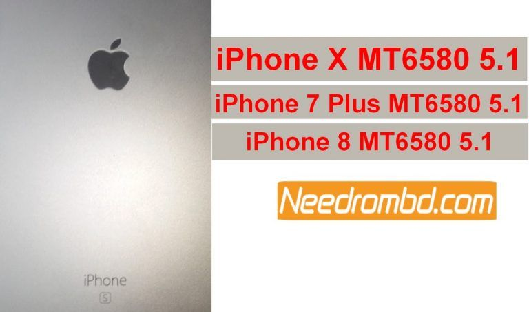 iPhone X MT6580 5 1 Firmware Free Download | Smartphone Firmware