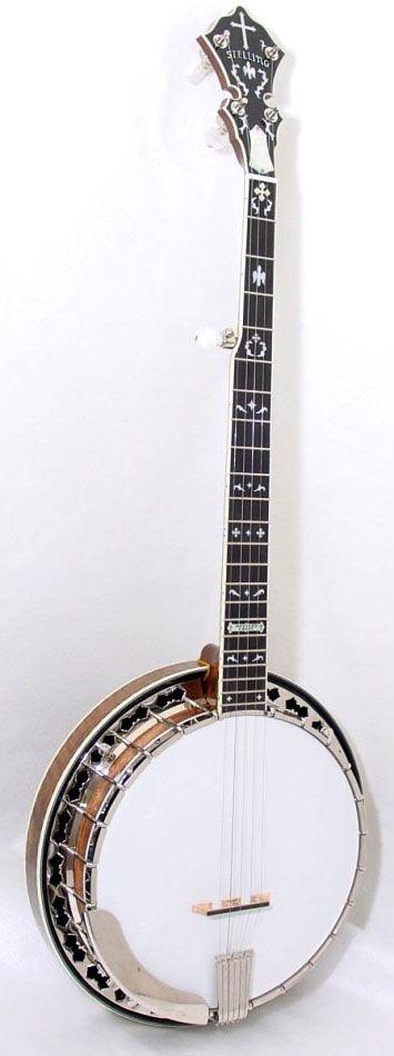 Stelling Masters Cross 5-String Banjo