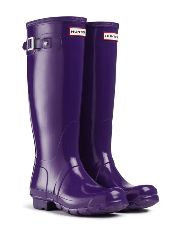 Hunter wellies · 10 Boot Styles We Can't Live Without: Rain Boots