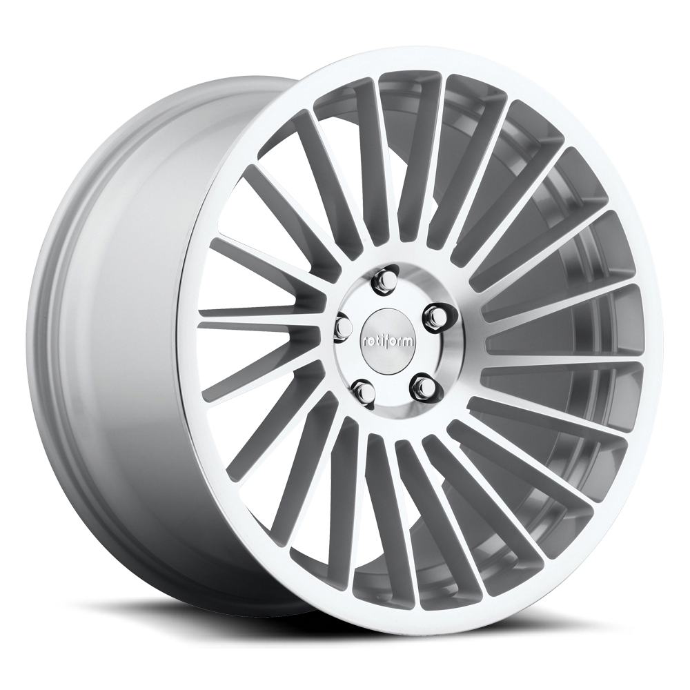 Rotiform Wheels R125 IND-T MS -Silver Machined #CustomVWCC