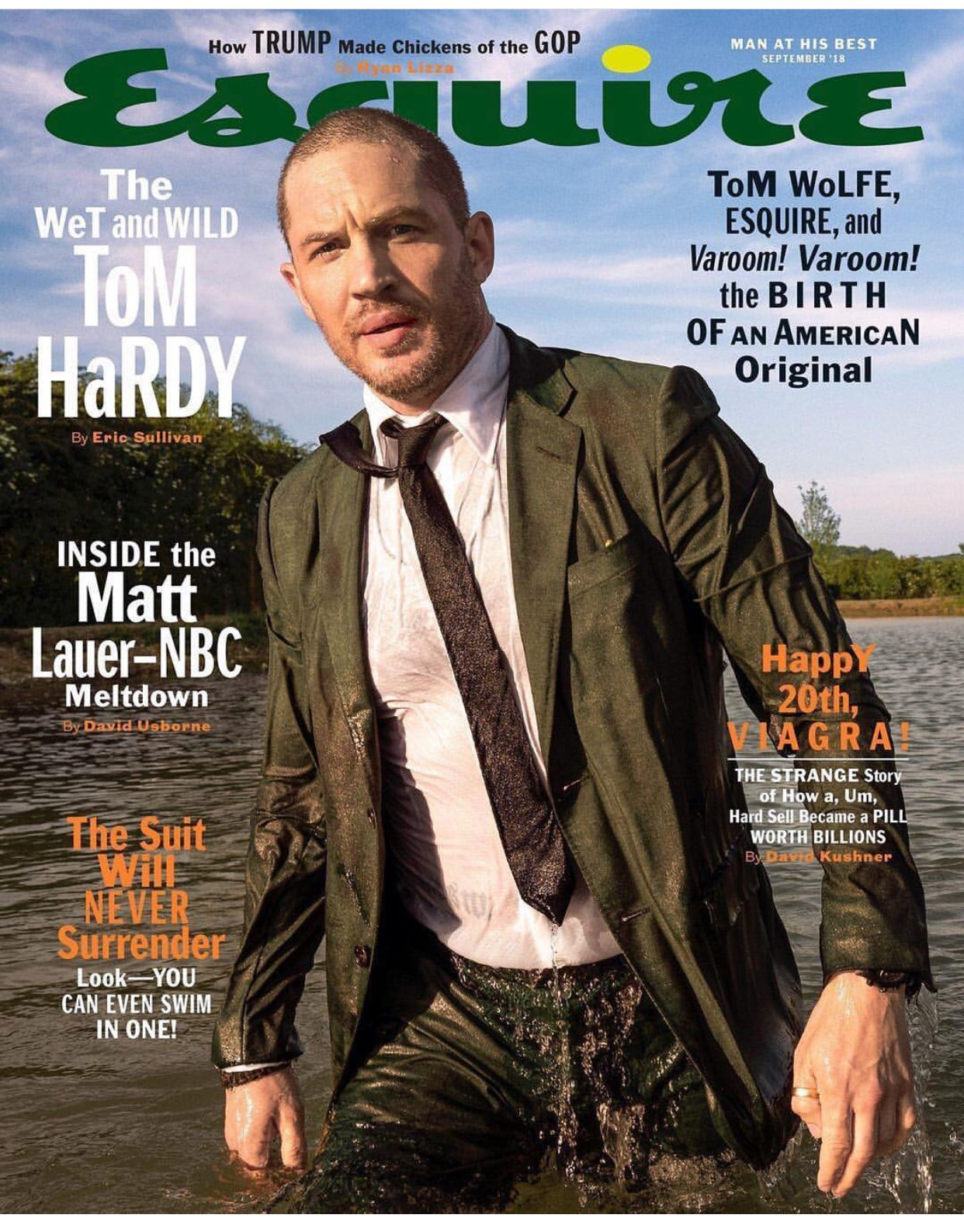 Pin by Shannon Dempsey on TOM HARDY Esquire cover, Tom