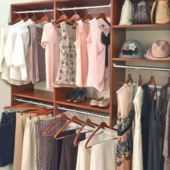 Clearing Closet Clutter: DIY Closet Organization   Closet ...