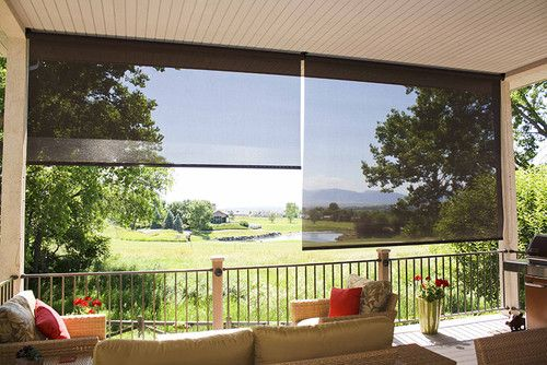 Exterior Solar Shades - Oasis Series - tropical - patio - denver ...