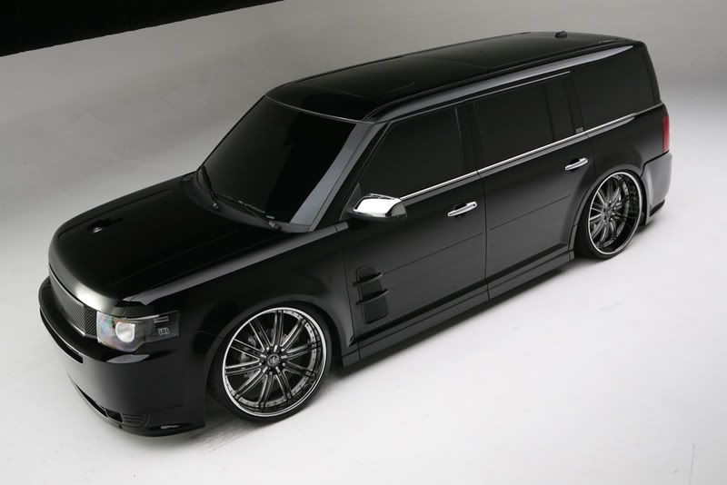 Photoshopped A Lifted Ford Flex Trans Ford Flex Lifted Ford