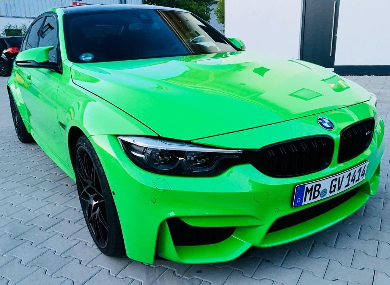 Photo of BMW F80 M3 Individual Verde Mantis