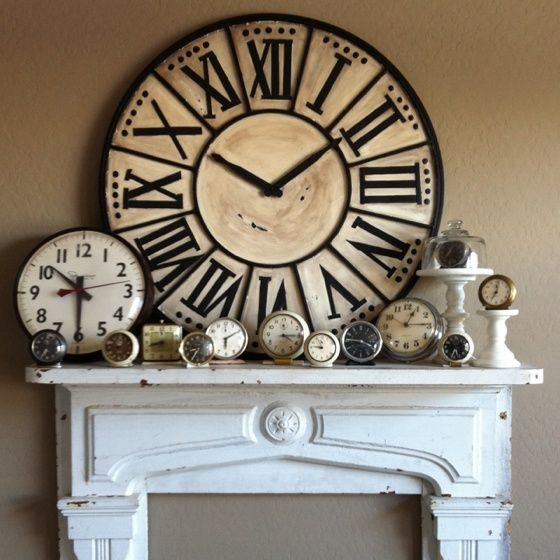 Pin By Terry G On Clocks Clock Decor Large Clock Big