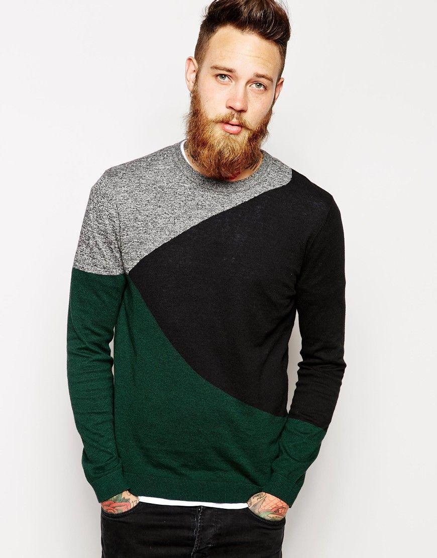 Jersey color block style men pinterest style men