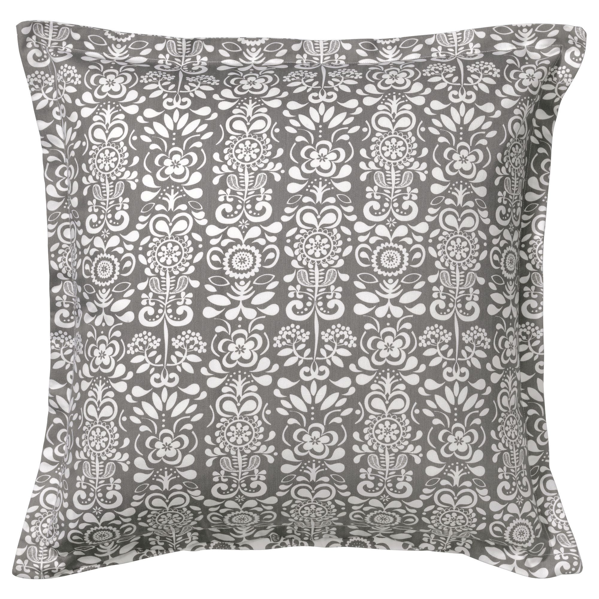 Refresh Any Room With Bold Pillows The IKEA KERKULLA Cushion Cover Has A Zipper Which