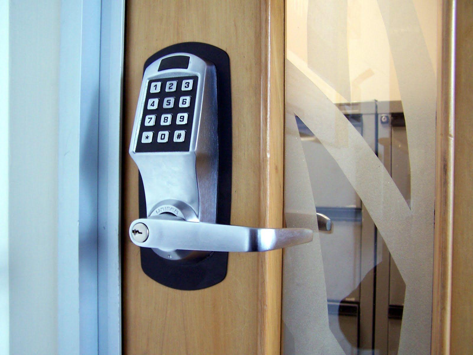 Commercial Grade Keypad Locks Available Door Security System Home Security Tips Home Security Systems