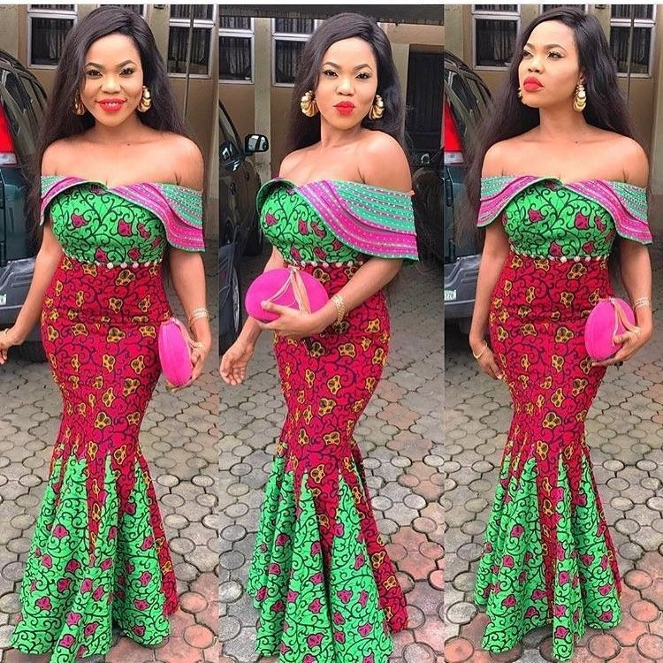 There are a lot of ways to make oneself look elegant with an Asoebi style, Even if you are reasoning on what to make and slay with an latest asoebi styles. latest asoebi styles for events arrive in a variety of patterns and designs.   The Ankara designs beauty of this print is that it comes in many designs and textures. Ankara will allow you create a approve of any fabric without losing the African Fabrics flair. #nigerianischehochzeit There are a lot of ways to make oneself look elegant with an #nigerianischehochzeit