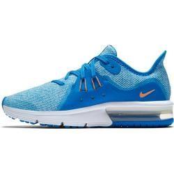 Nike Mädchen Laufschuhe Air Max Sequent 3 (gs), Größe 39 In Cobalt Blaze/orange Pulse-Blue, Größe 39