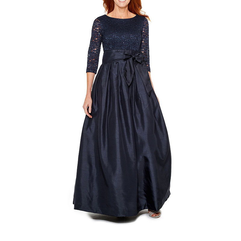 d968d4fb469 Jessica Howard 3/4 Sleeve Ball Gown | Products | Fashion, Stylish ...