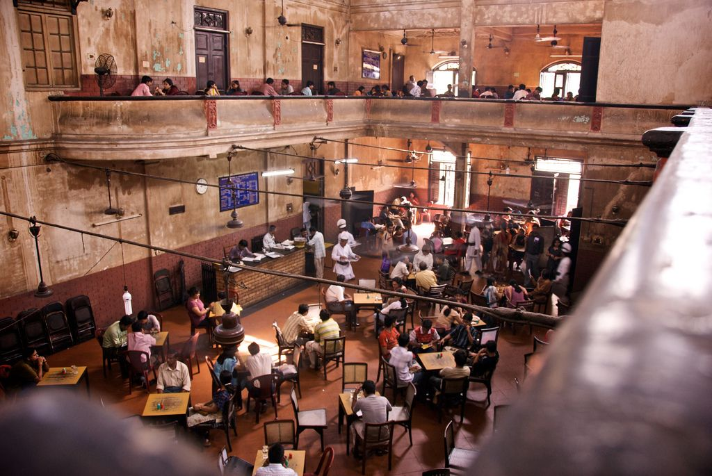The Indian Coffee House in Calcutta, India. As long as