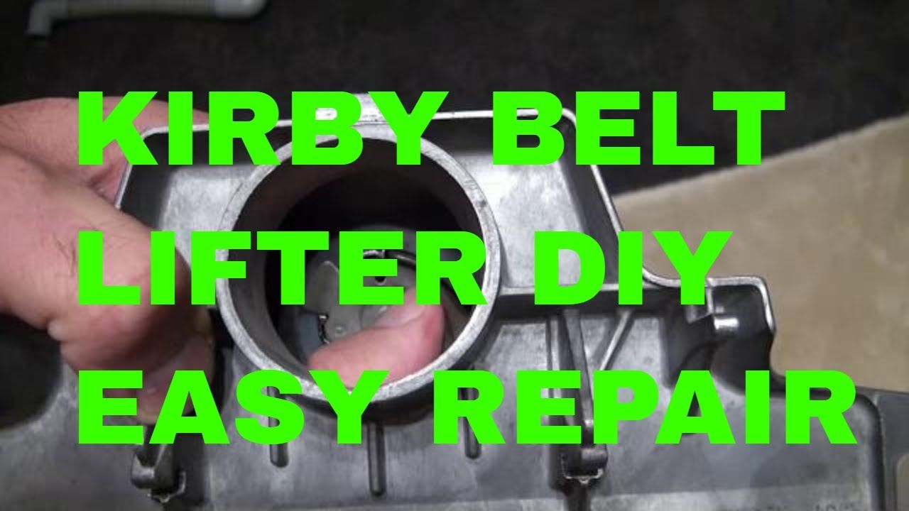 Kirby Vacuum Demonstration Do It Your Self Repair Replacement In 2020 Kirby Vacuum Vacuum Belt Repair