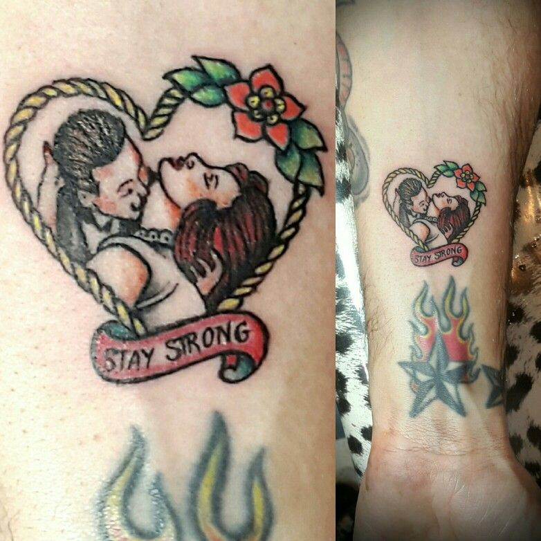 #mini tattoo #tatuaje en miniatura #tattootradicional #tatuajeromantico #tradicionaltattoo #griseldatatuadora #griseldaaranda