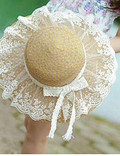 Lace+Bow+Ms.+Collapsible+Sun+Straw+Beach+Hat+–+USD+$+9.99
