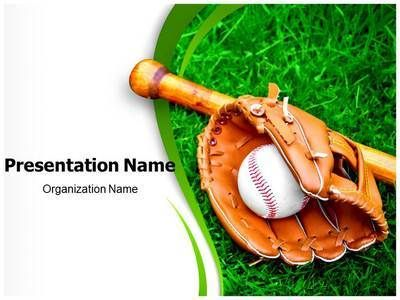 Baseball Sports Powerpoint Template Is One Of The Best Powerpoint