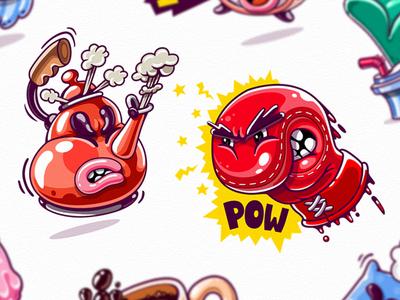 Kik Messenger Stickers Messenger Stickers Sticker Art Graffiti Designs