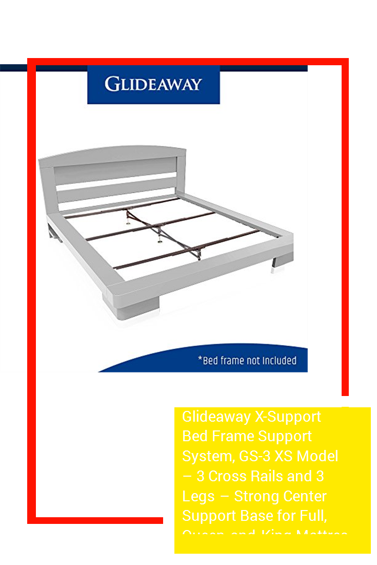 Glideaway X-Support Bed Frame Support System 3 Cross Rails and GS-3 XS Model