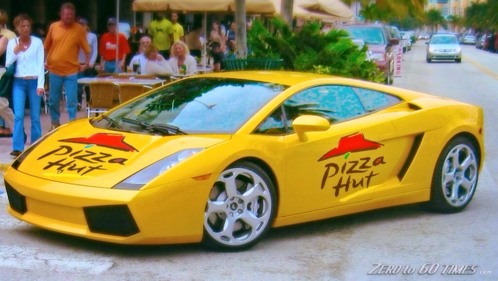 If only I worked at Pizza Hut Sports cars, Super cars, Cars