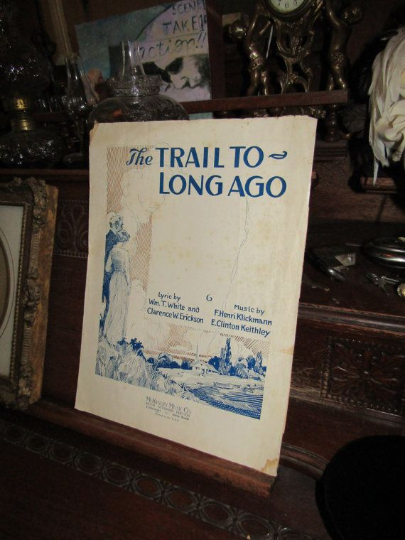 The Trail to Long Ago by OnePennyWestern on Etsy