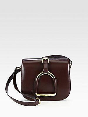 240a85ef1b1b Ralph Lauren Collection Stirrup Shoulder Bag