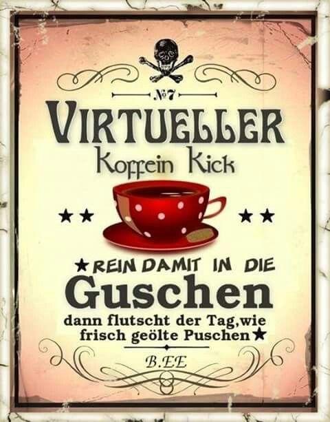 Guten Morgen Kaffee Lustig