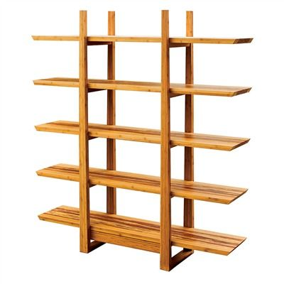 Bamboo Pure Inlay Shelving Unit 491563678 Eco Friendly Shelves Cabinets From Reclaimed Wood
