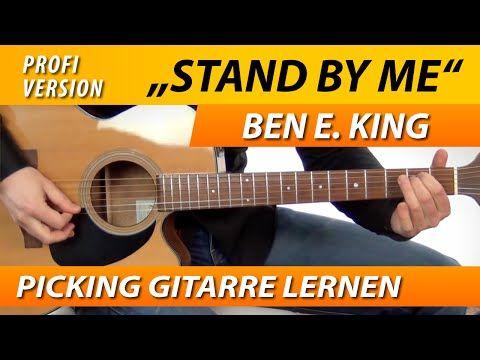 STAND BY ME Ben E. King GITARRE LERNEN Fingerpicking ...