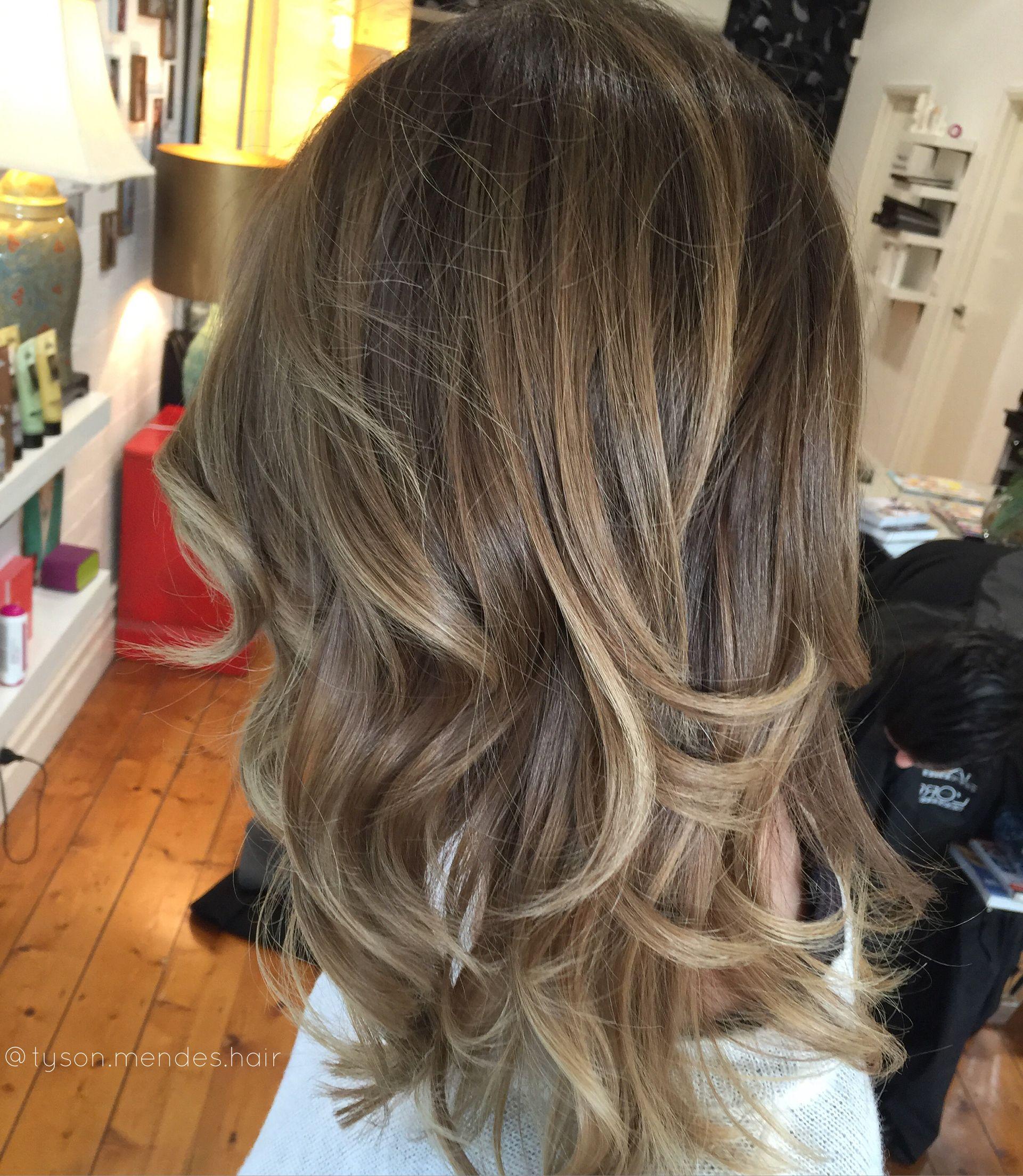 Bronde Balayage Colour Melt Hair Hairstyles Pinte