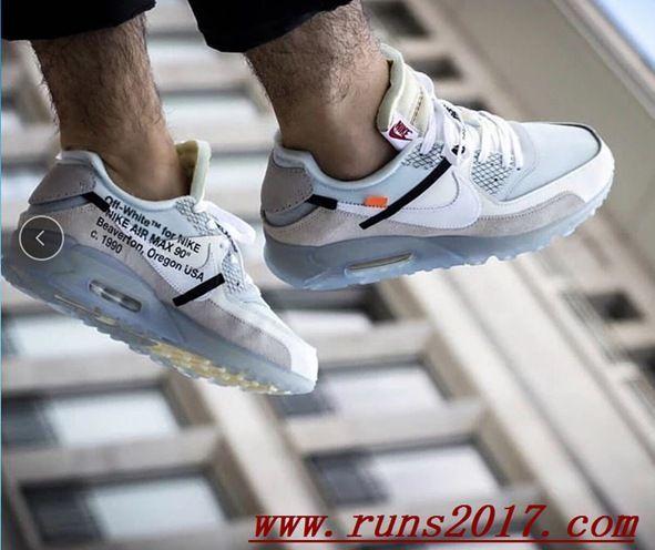 Nike Air Max 90 x OW White http://feedproxy.google.com