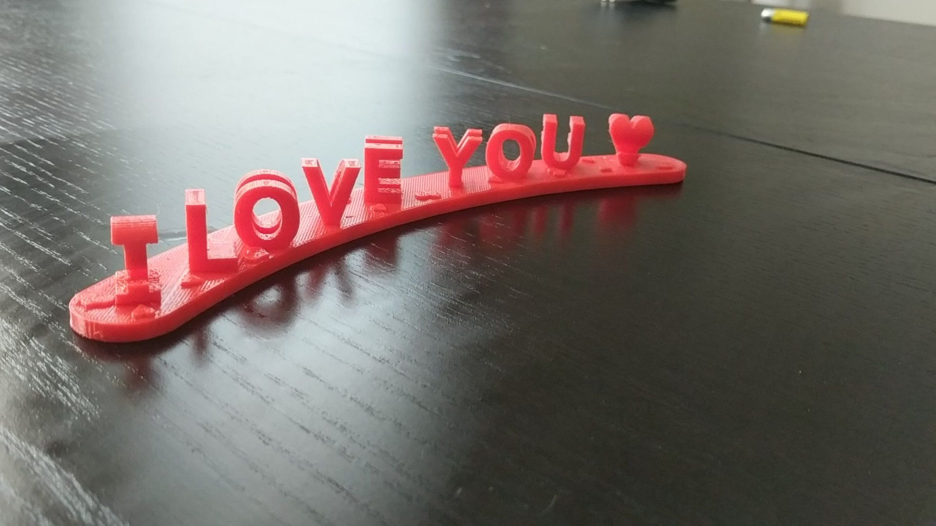 I too 3d printed a gift for my girlfriend for valentines