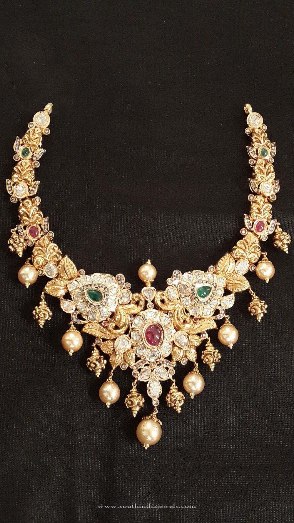 Simple Gold Choker Design | Gold choker necklace, Gold choker and ...